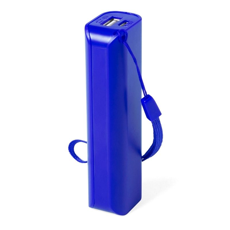 Power bank para boda en color azul