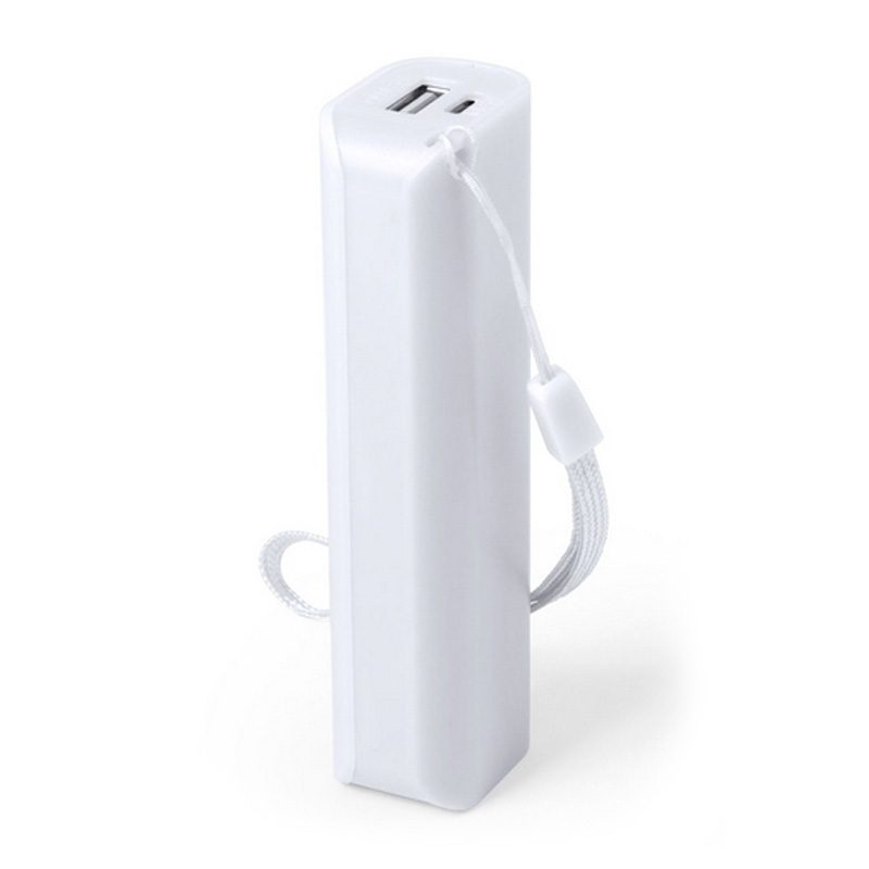 Power bank para boda en color blanco