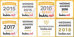 Premios y recomendaciones obtenidas por nuestros clientes.