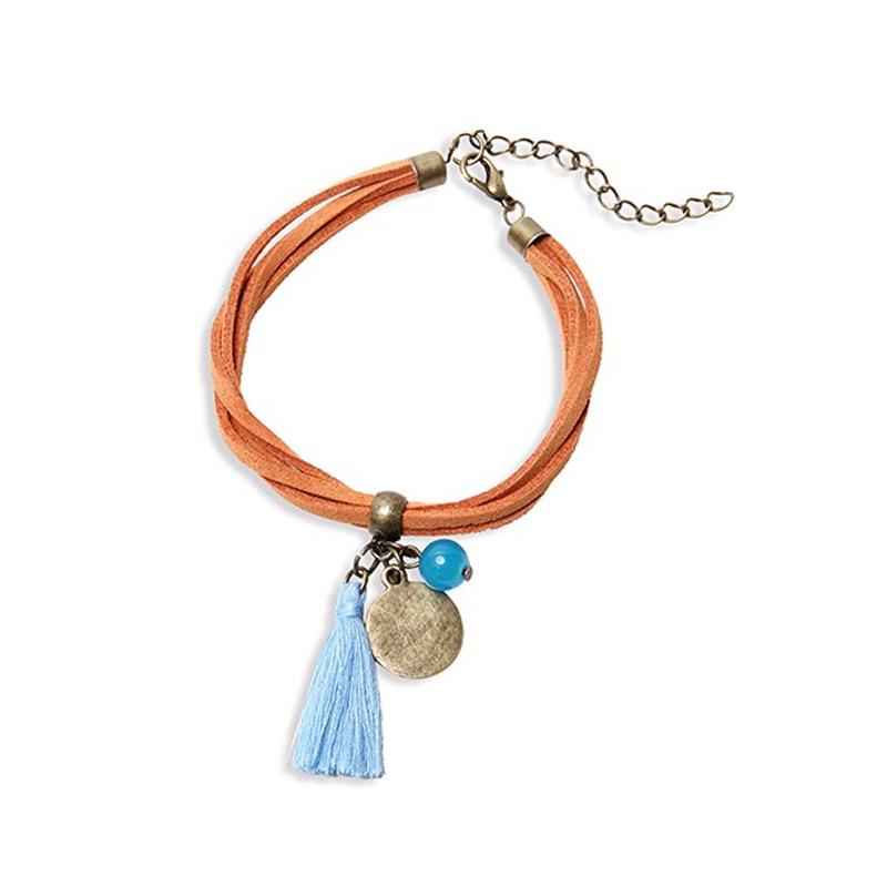 Preciosa pulsera para boda. Modelo portimay. 2 colores.