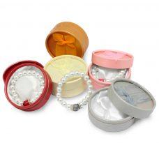 Pulsera de perlas en colores surtidos + cajita de regalo