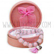 pulsera para mujeres modelo flecos