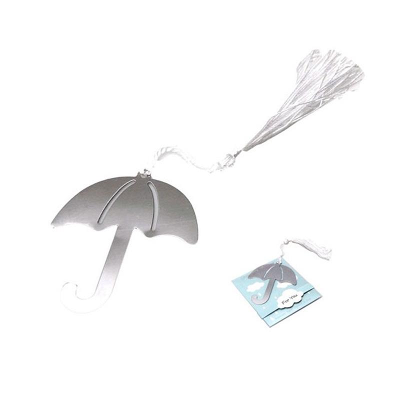 Punto de libro marcapáginas modelo paraguas
