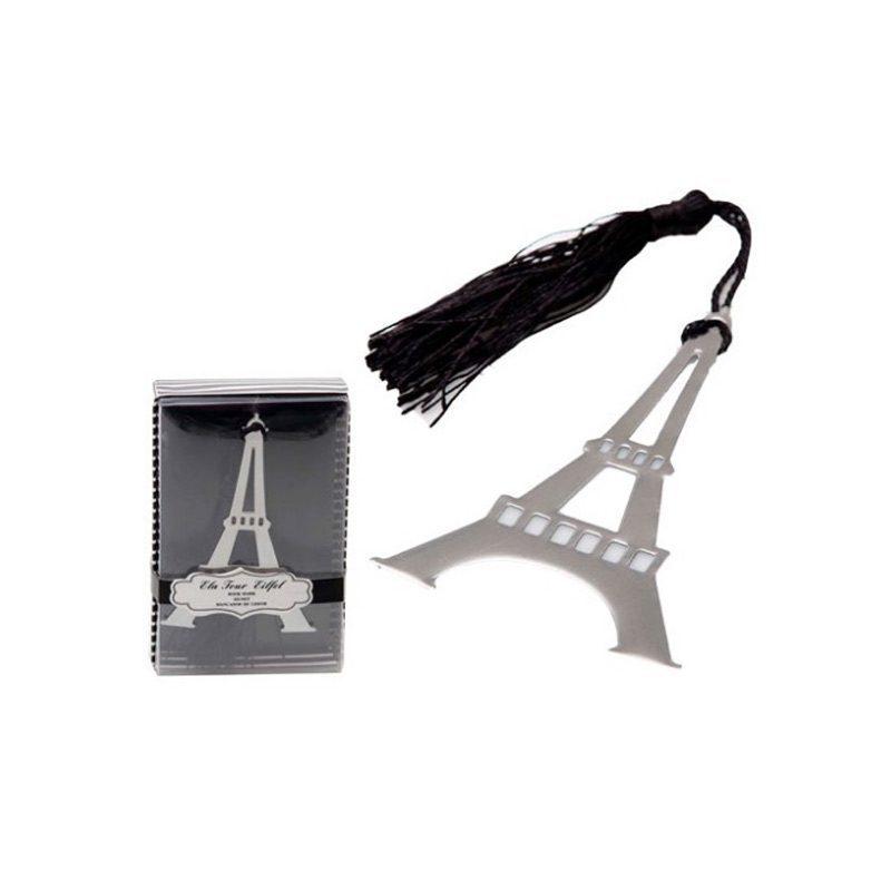 Punto de libro marcapáginas modelo Torre Eiffel