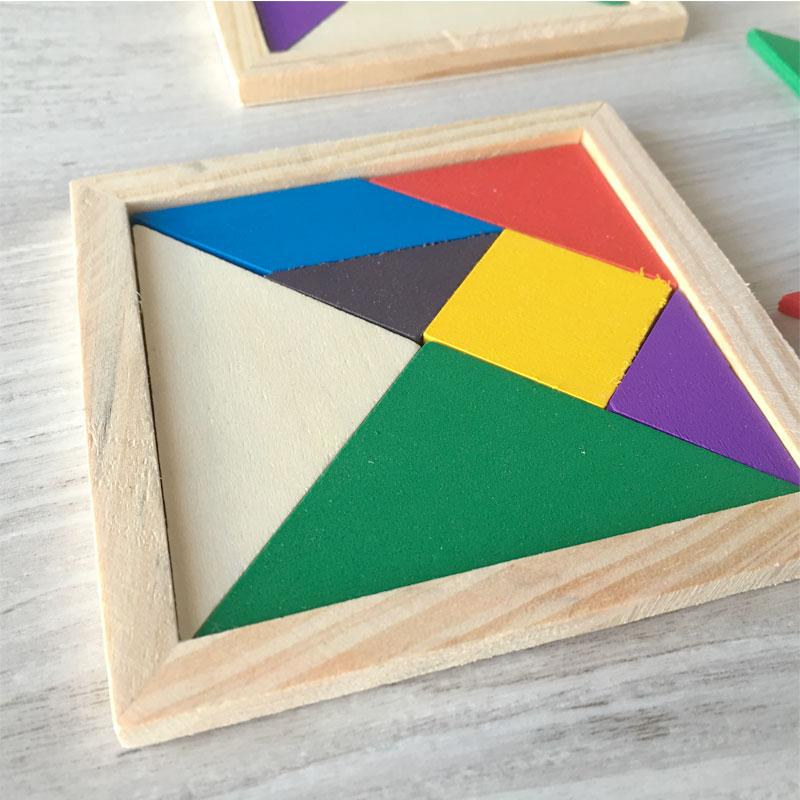 Puzzle infantil de madera