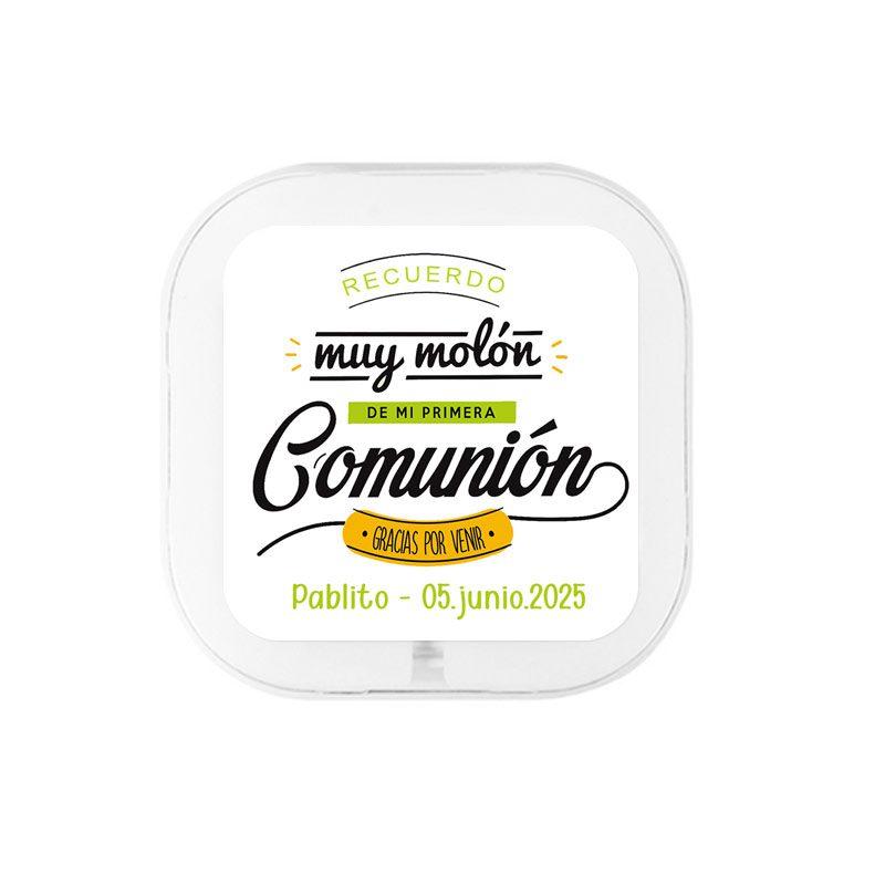 """Auriculares para regalar en comunión, modelo """"Muy molón"""" regalo para comunion auriculares muy molon"""