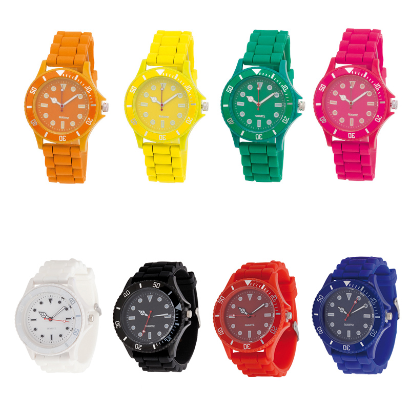 Reloj para regalar, modelo Colors. 8 colores disponibles.