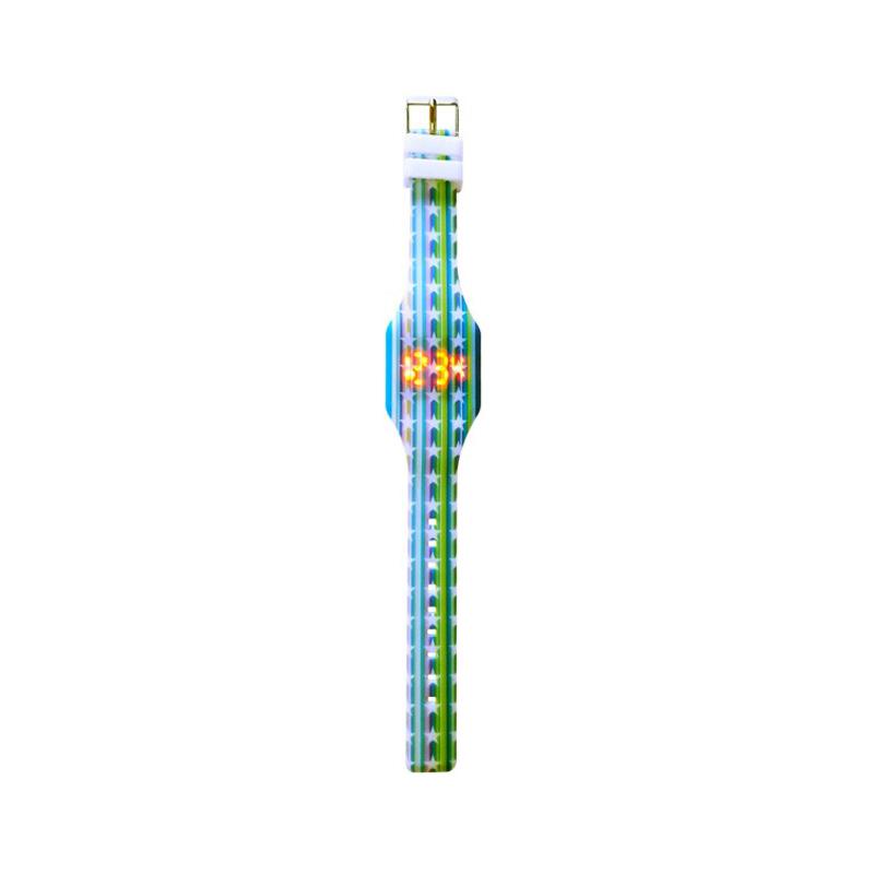Reloj led de silicona para niños