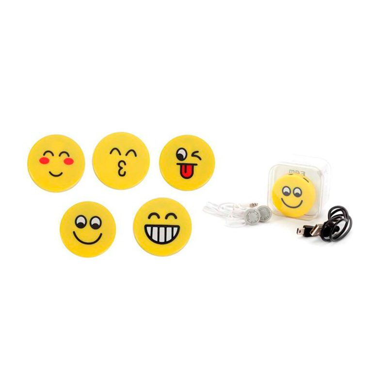 Reproductor mp3 emoticonos