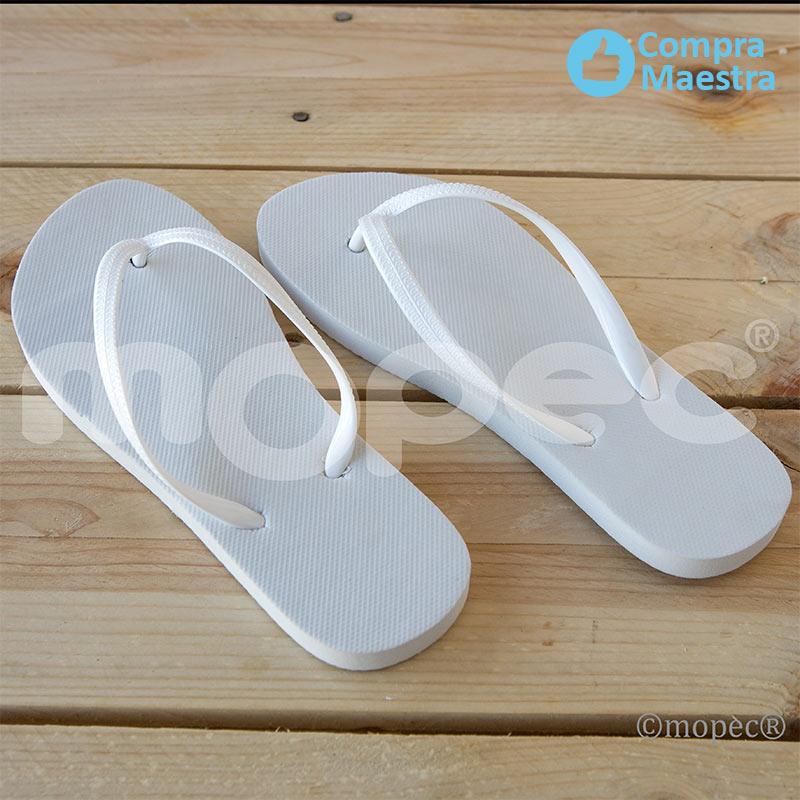 sandalias para boda en color blanco