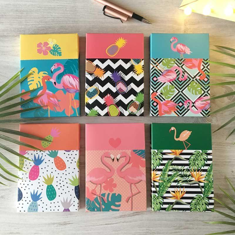 Set 3 libretas en caja regalo modelo copacabana
