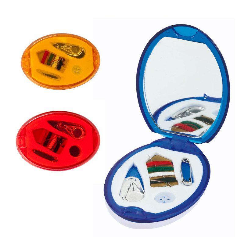Set de espejo y costura plegable para kits. 3 colores diferentes.