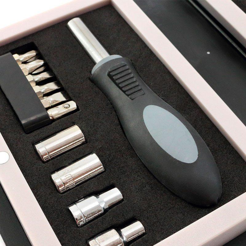 Set de Herramientas modelo Libro, 15 piezas set de herramientas modelo libro 15 piezas3