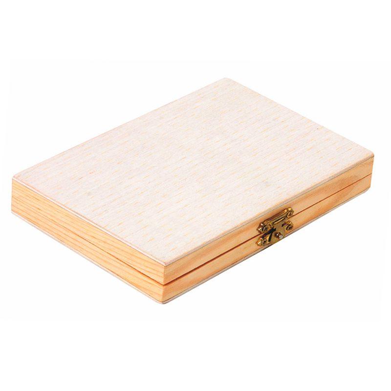 Set de madera para colorear infantil. 18x12.5x3cm