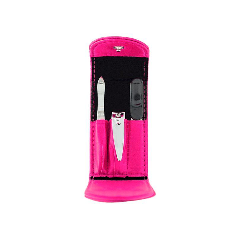 Set de manicura, modelo Pink Glam. 3 accesorios