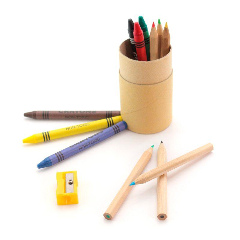 Set para colorear presentado en estuche de cartón set para colorear presentado en estuche de carton detalles infantiles para comunion4