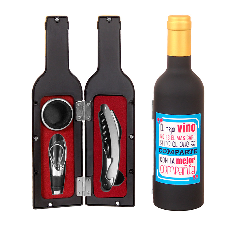 Nuevo set de vino. Las mejores cosas. 3 piezas. 3 modelos.