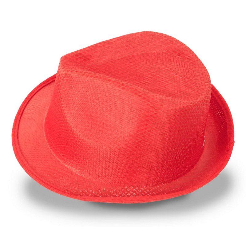 sombrero para photocall en color rojo