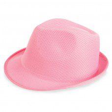 sombrero para photocall en color rosa
