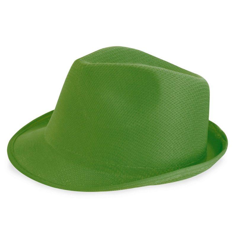 sombrero para photocall en color verde