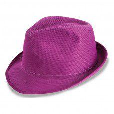 sombrero para photocall en color violeta