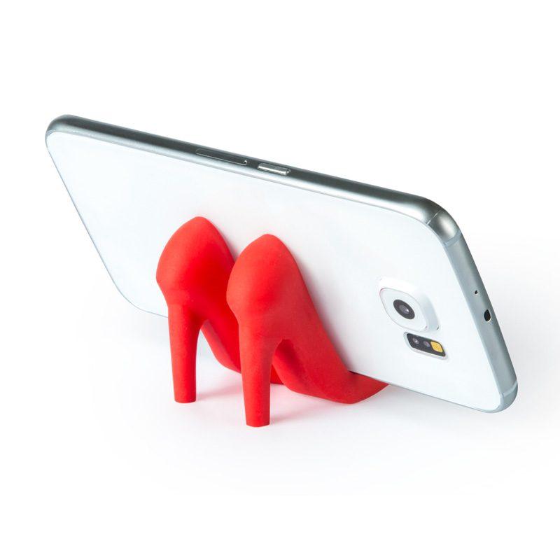 Soporte para móvil en forma de tacones. Varios colores disponibles.