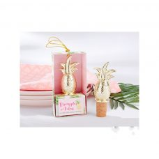 Tapón botella piña en caja regalo
