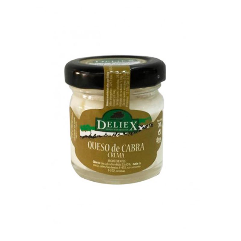 Tarrito de crema de queso de cabra para untar 30gr