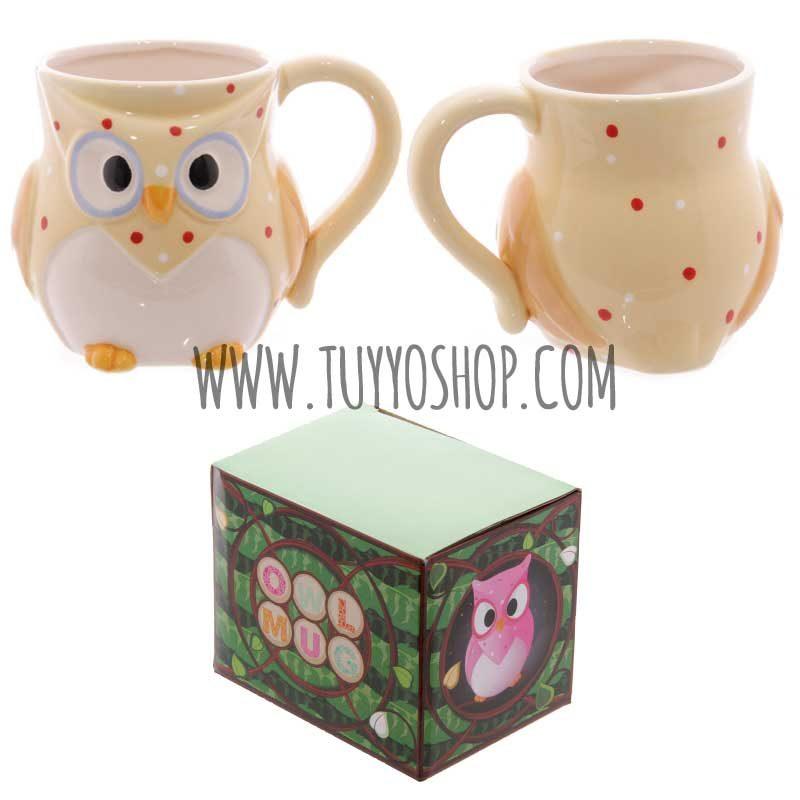 Taza de cerámica Búho Owl
