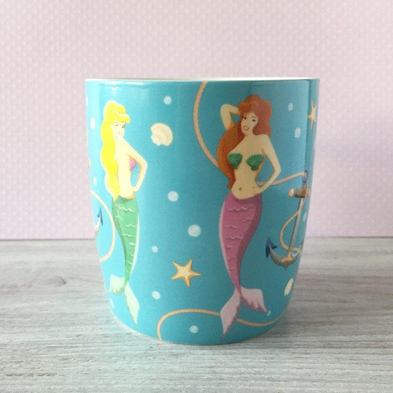 Taza de cerámica Sirenas