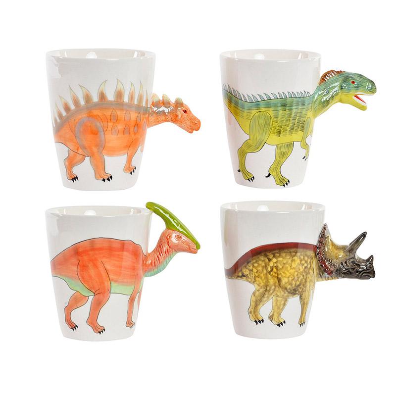 Taza para regalo. Modelo dinosaurios. 4 diseños.
