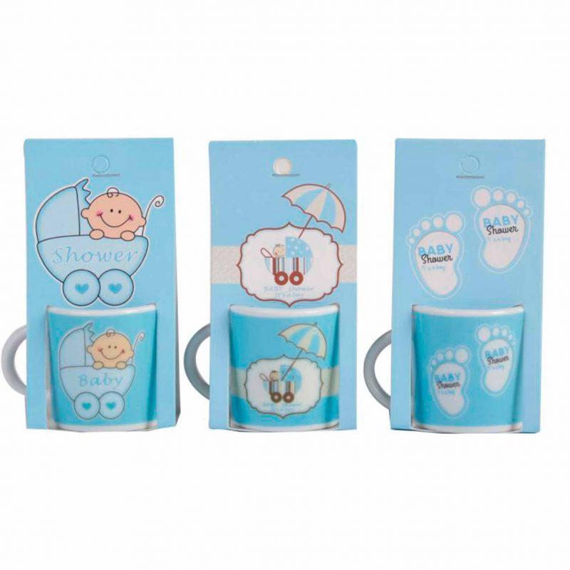 Bautizo taza nino bautizo presentad en blister de carton