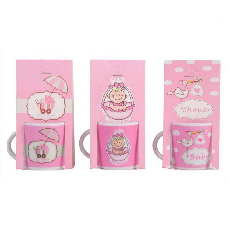 Bautizo taza para cafe solo nina bautizo presentado en blister de carton a juego 1