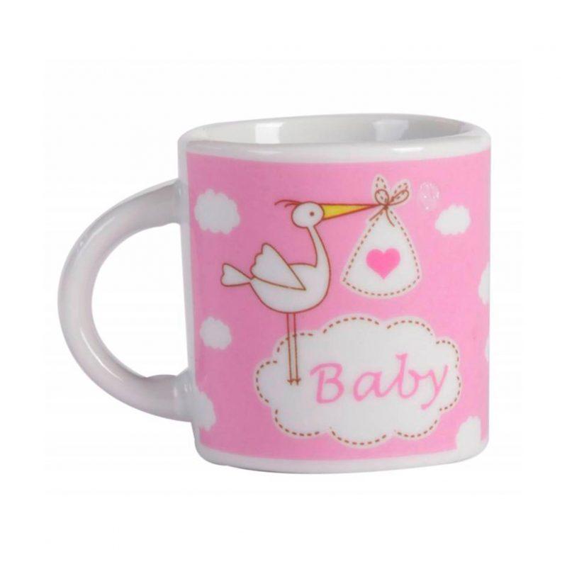 Taza para café solo, niña bautizo. Presentado en blister de cartón a juego. taza para cafe solo nina bautizo presentado en blister de carton a juego 2 scaled