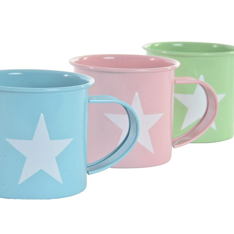 Taza de metal, modelo Stella. 3 colores. 360ml