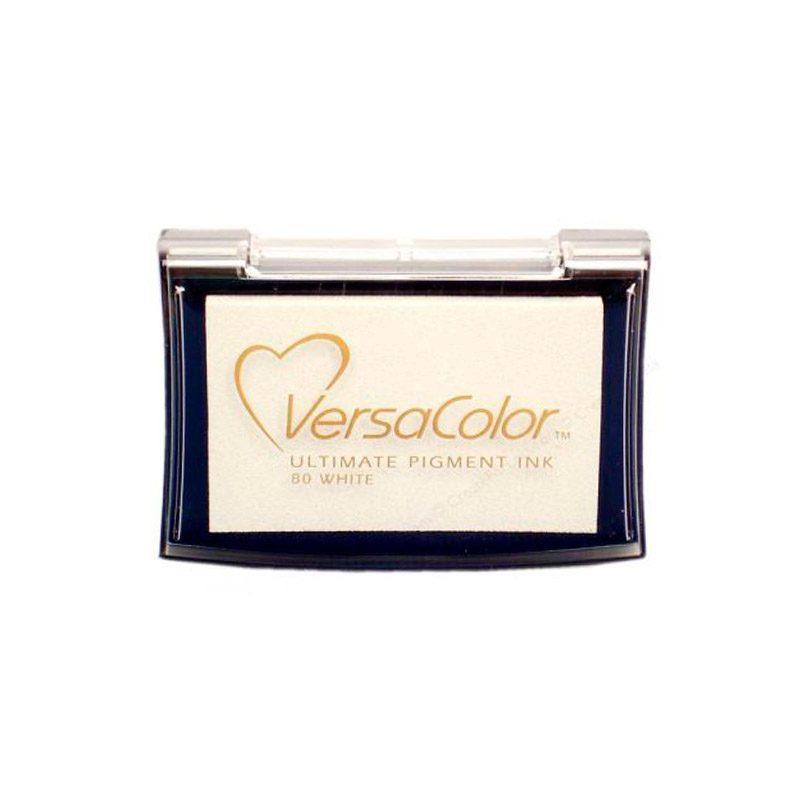 Tampón para sellos Versacolor en color blanco