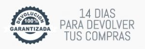 14 días de devolución en tus compras