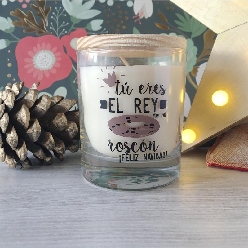 Vela para regalar en Navidad