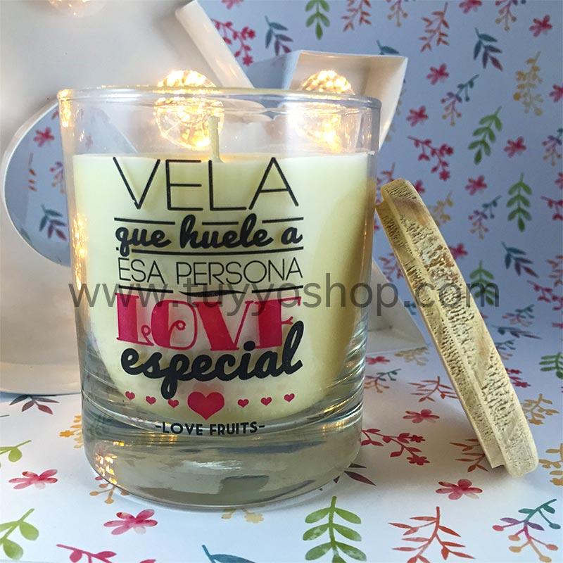 vela que huele a esa persona love especial