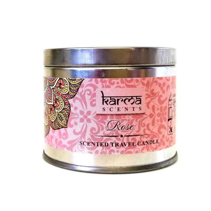 Vela perfumada en latita Karma Scents. 6 aromas.