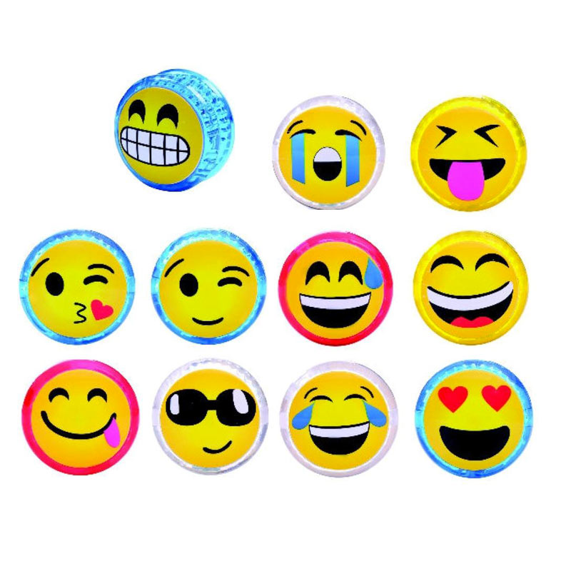 Yoyo de emoticonos con luces