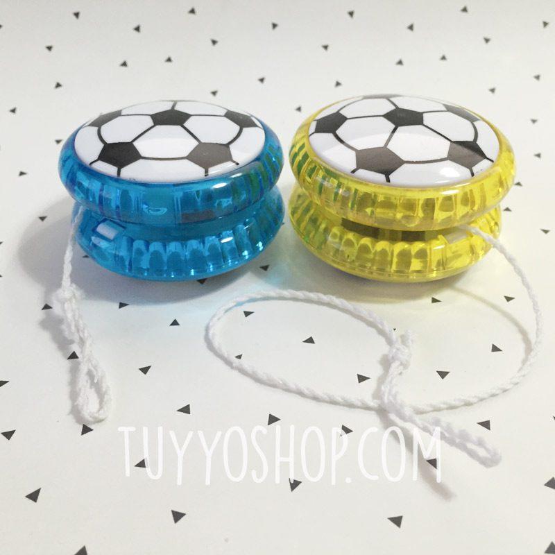 Yoyo de fútbol con luces