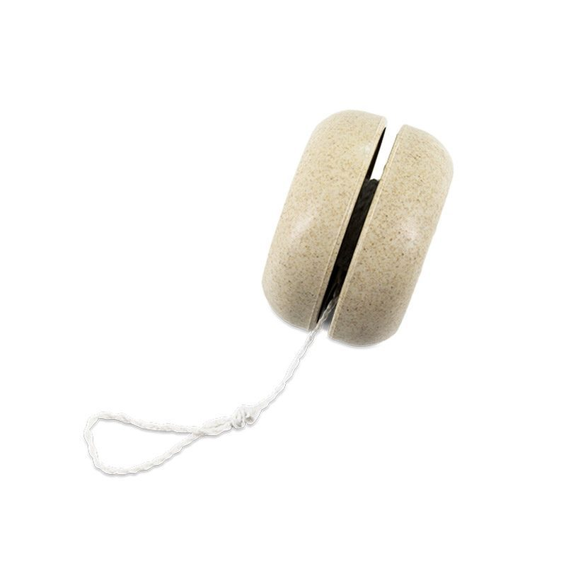 Yo-yo de fibra de bambú. Modelo nature.