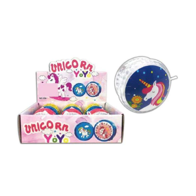 Yoyo con luces modelo unicornio