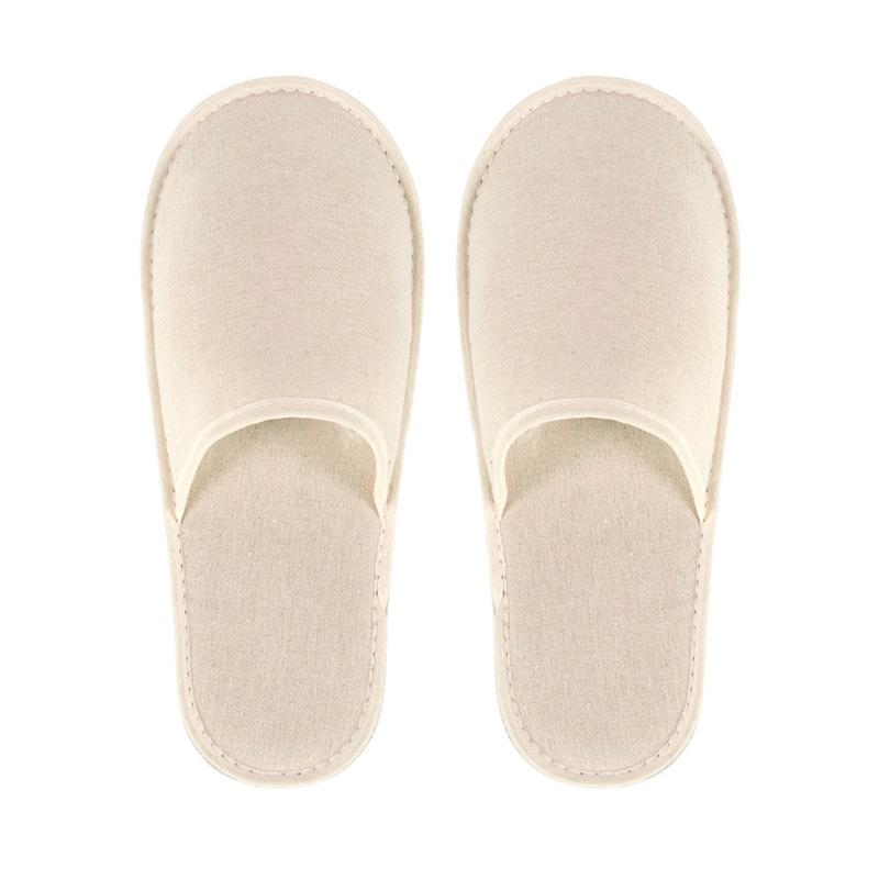 Zapatillas de algodón con suela rígida. Para hombre y mujer.